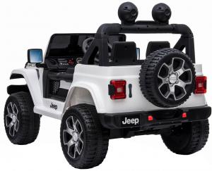 Masinuta electrica 4x4 Premier Jeep Wrangler Rubicon, 12V, roti cauciuc EVA, scaun piele ecologica13