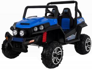 Masinuta electrica 4x4 Premier V-Twin, 12V, 2 locuri, roti cauciuc EVA, scaun piele ecologica2