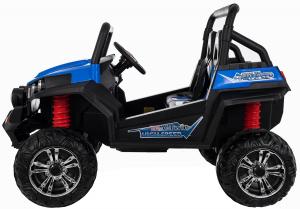 Masinuta electrica 4x4 Premier V-Twin, 12V, 2 locuri, roti cauciuc EVA, scaun piele ecologica3