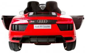 Masinuta electrica Premier Audi R8 Spyder, 12V, roti cauciuc EVA, scaun piele ecologica, rosie6