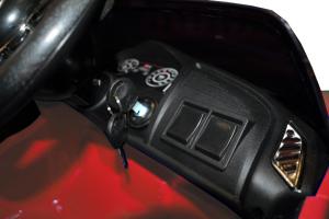 Masinuta electrica Premier Audi R8 Spyder, 12V, roti cauciuc EVA, scaun piele ecologica, rosie15