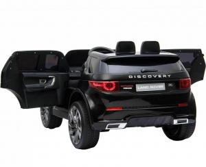 Masinuta electrica copii Land Rover Discovery cu soft start, 12V ,portiere, scaunel tapitat, roti cauciuc2
