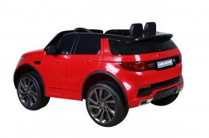 Masinuta electrica copii Land Rover Discovery cu soft start, 12V ,portiere, scaunel tapitat, roti cauciuc7