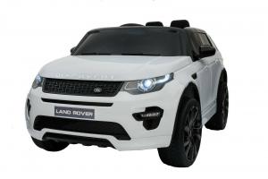Masinuta electrica copii Land Rover Discovery cu soft start, 12V ,portiere, scaunel tapitat, roti cauciuc0