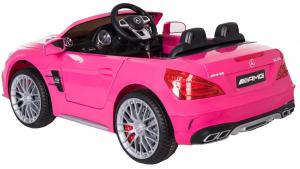 Masinuta electrica Premier Mercedes SL65 AMG, 12V, roti cauciuc EVA, scaun piele ecologica2