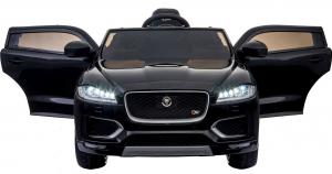 Masinuta electrica Premier Jaguar F-Pace, 12V, roti cauciuc EVA, scaun piele ecologica, neagra [4]