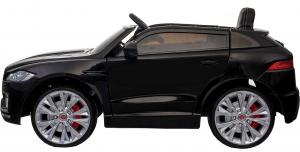 Masinuta electrica Premier Jaguar F-Pace, 12V, roti cauciuc EVA, scaun piele ecologica, neagra [6]
