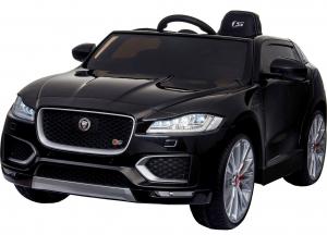 Masinuta electrica Premier Jaguar F-Pace, 12V, roti cauciuc EVA, scaun piele ecologica, neagra [0]