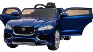 Masinuta electrica Premier Jaguar F-Pace, 12V, roti cauciuc EVA, scaun piele ecologica, albastra5
