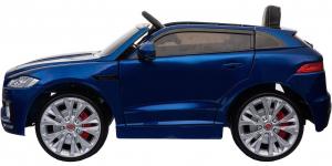 Masinuta electrica Premier Jaguar F-Pace, 12V, roti cauciuc EVA, scaun piele ecologica, albastra10