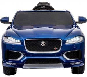 Masinuta electrica Premier Jaguar F-Pace, 12V, roti cauciuc EVA, scaun piele ecologica, albastra8