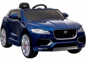 Masinuta electrica Premier Jaguar F-Pace, 12V, roti cauciuc EVA, scaun piele ecologica, albastra6