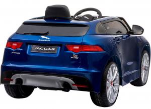 Masinuta electrica Premier Jaguar F-Pace, 12V, roti cauciuc EVA, scaun piele ecologica, albastra11