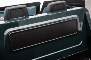 Masinuta electrica Mercedes G63 Solo, 2 baterii 12V, 6 roti cauciuc EVA, 4x4, 1 loc, 4 motoare, negru [27]
