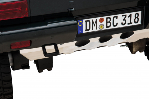 Masinuta electrica Mercedes G63 Solo, 2 baterii 12V, 6 roti cauciuc EVA, 4x4, 1 loc, 4 motoare, negru [32]