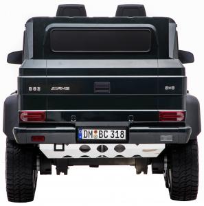 Masinuta electrica Mercedes G63 Solo, 2 baterii 12V, 6 roti cauciuc EVA, 4x4, 1 loc, 4 motoare, negru7