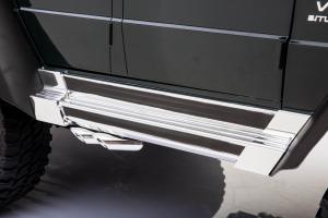 Masinuta electrica Mercedes G63 Solo, 2 baterii 12V, 6 roti cauciuc EVA, 4x4, 1 loc, 4 motoare, negru25