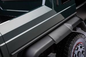 Masinuta electrica Mercedes G63 Solo, 2 baterii 12V, 6 roti cauciuc EVA, 4x4, 1 loc, 4 motoare, negru [26]