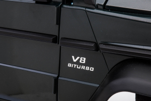 Masinuta electrica Mercedes G63 Solo, 2 baterii 12V, 6 roti cauciuc EVA, 4x4, 1 loc, 4 motoare, negru24
