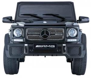 Masinuta electrica Premier Mercedes AMG G65, 12V, roti cauciuc EVA, scaun piele ecologica7