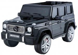 Masinuta electrica Premier Mercedes AMG G65, 12V, roti cauciuc EVA, scaun piele ecologica0