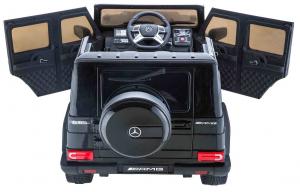 Masinuta electrica Premier Mercedes AMG G65, 12V, roti cauciuc EVA, scaun piele ecologica6