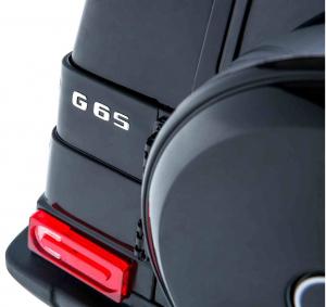 Masinuta electrica Premier Mercedes AMG G65, 12V, roti cauciuc EVA, scaun piele ecologica9