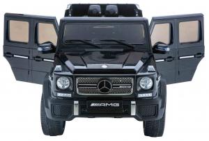 Masinuta electrica Premier Mercedes AMG G65, 12V, roti cauciuc EVA, scaun piele ecologica1