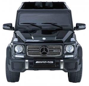 Masinuta electrica Premier Mercedes AMG G65, 12V, roti cauciuc EVA, scaun piele ecologica2