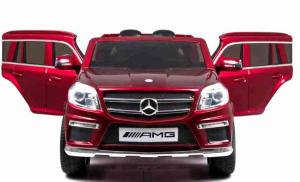 Masinuta electrica Premier Mercedes GL63, 12V, roti cauciuc EVA, scaun piele ecologica, rosu [3]