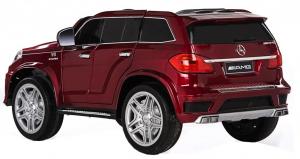 Masinuta electrica Premier Mercedes GL63, 12V, roti cauciuc EVA, scaun piele ecologica, rosu [2]