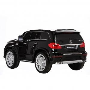 Masinuta electrica Premier Mercedes GL63, 12V, roti cauciuc EVA, scaun piele ecologica, negru [2]