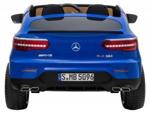 Masinuta electrica 4x4 Premier Mercedes GLC 63S Maxi, 12V, roti cauciuc EVA, scaun piele ecologica, albastru4