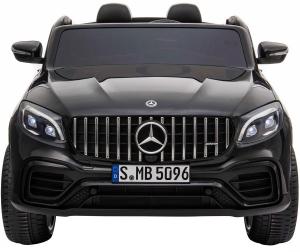 Masinuta electrica 4x4 Premier Mercedes GLC 63S Maxi, 12V, roti cauciuc EVA, scaun piele ecologica, negru [1]