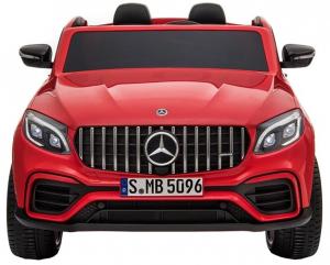 Masinuta electrica 4x4 Premier Mercedes GLC 63S Maxi, 12V, roti cauciuc EVA, scaun piele ecologica2