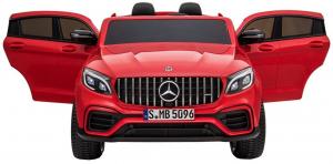 Masinuta electrica 4x4 Premier Mercedes GLC 63S Maxi, 12V, roti cauciuc EVA, scaun piele ecologica6