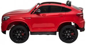 Masinuta electrica 4x4 Premier Mercedes GLC 63S Maxi, 12V, roti cauciuc EVA, scaun piele ecologica3