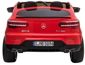Masinuta electrica 4x4 Premier Mercedes GLC 63S Maxi, 12V, roti cauciuc EVA, scaun piele ecologica5