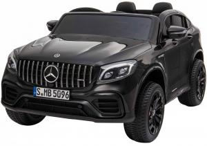 Masinuta electrica 4x4 Premier Mercedes GLC 63S Maxi, 12V, roti cauciuc EVA, scaun piele ecologica, negru [0]
