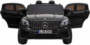 Masinuta electrica 4x4 Premier Mercedes GLC 63S Maxi, 12V, roti cauciuc EVA, scaun piele ecologica, negru [6]