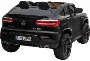 Masinuta electrica 4x4 Premier Mercedes GLC 63S Maxi, 12V, roti cauciuc EVA, scaun piele ecologica, negru [4]