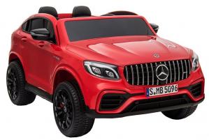 Masinuta electrica 4x4 Premier Mercedes GLC 63S Maxi, 12V, roti cauciuc EVA, scaun piele ecologica1