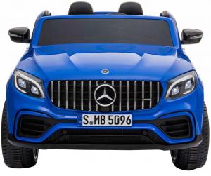 Masinuta electrica 4x4 Premier Mercedes GLC 63S Maxi, 12V, roti cauciuc EVA, scaun piele ecologica, albastru1