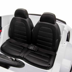 Masinuta electrica 4x4 Premier Mercedes GLC 63S Maxi, 12V, roti cauciuc EVA, scaun piele ecologica, alb11