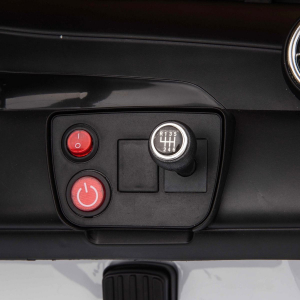 Masinuta electrica 4x4 Premier Mercedes GLC 63S Maxi, 12V, roti cauciuc EVA, scaun piele ecologica, alb9