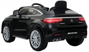 Masinuta electrica Premier Mercedes GLE 63 Coupe, 12V, roti cauciuc EVA, scaun piele ecologica, neagra [1]