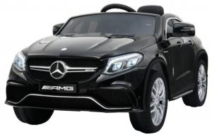Masinuta electrica Premier Mercedes GLE 63 Coupe, 12V, roti cauciuc EVA, scaun piele ecologica, neagra [0]