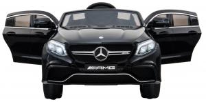 Masinuta electrica Premier Mercedes GLE 63 Coupe, 12V, roti cauciuc EVA, scaun piele ecologica, neagra [4]