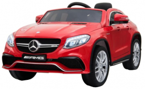 Masinuta electrica Premier Mercedes GLE 63 Coupe, 12V, roti cauciuc EVA, scaun piele ecologica2