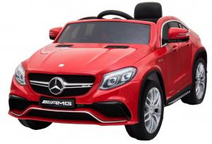 Masinuta electrica Premier Mercedes GLE 63 Coupe, 12V, roti cauciuc EVA, scaun piele ecologica0